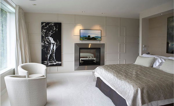 20 Modern Bedroom With Fireplace Designs Home Design Lover