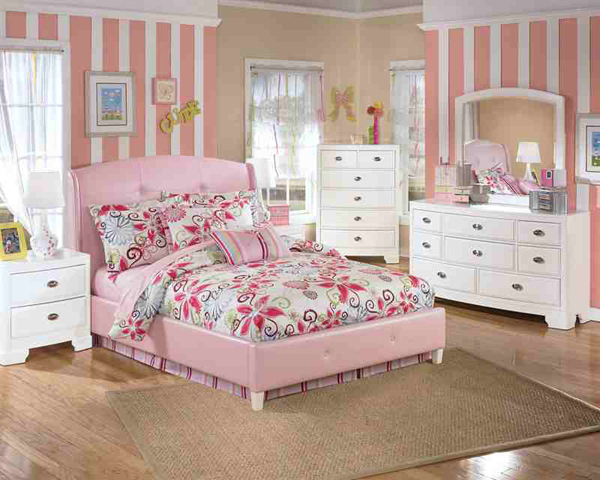 20 Charmingly Beautiful Pink Full Beds Home Design Lover