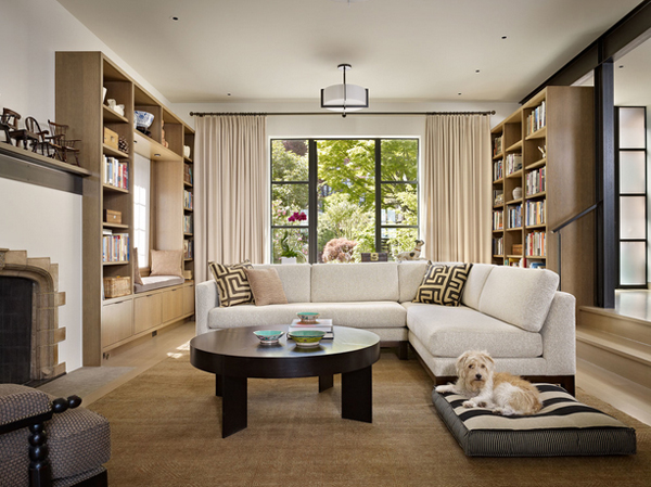 20 Contemporary Unsymmetrical Living Rooms