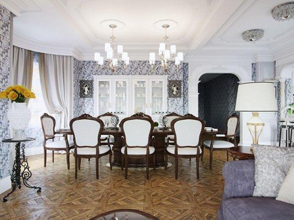 20 Elegant Designs Of Victorian Dining Rooms Home Design
