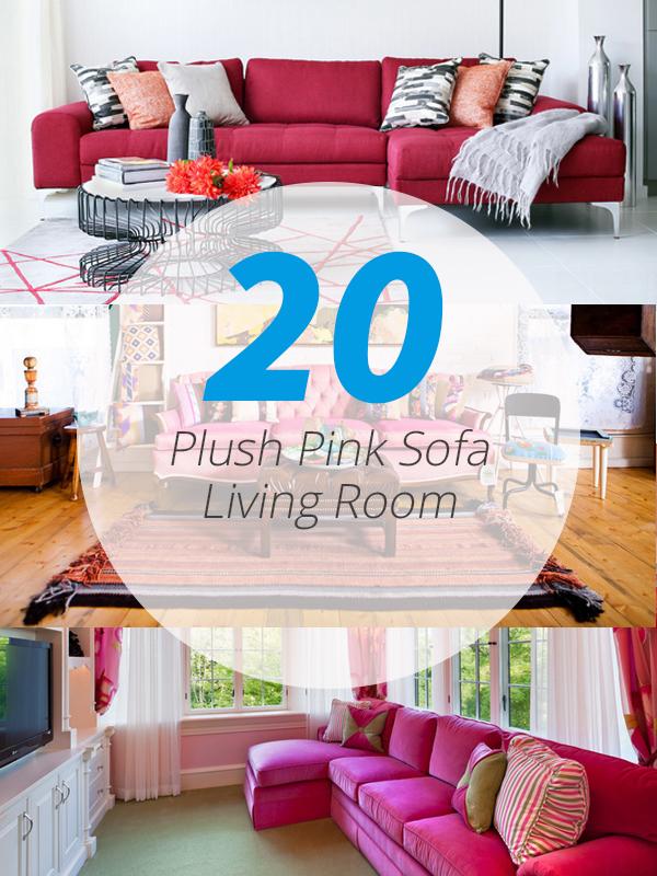 20 plush pink sofa living room home
