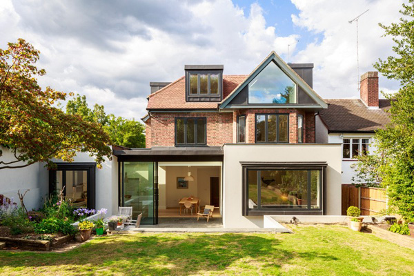 Magnificent Changes Applied in the a 1930's House in North London
