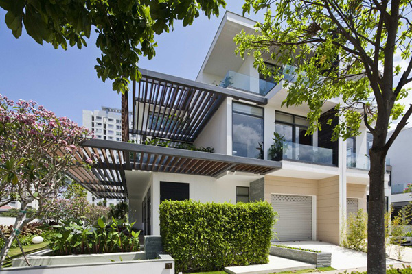 Environmental and Classy Features of the Indochina Villa Saigon in Ho Chi Minh City