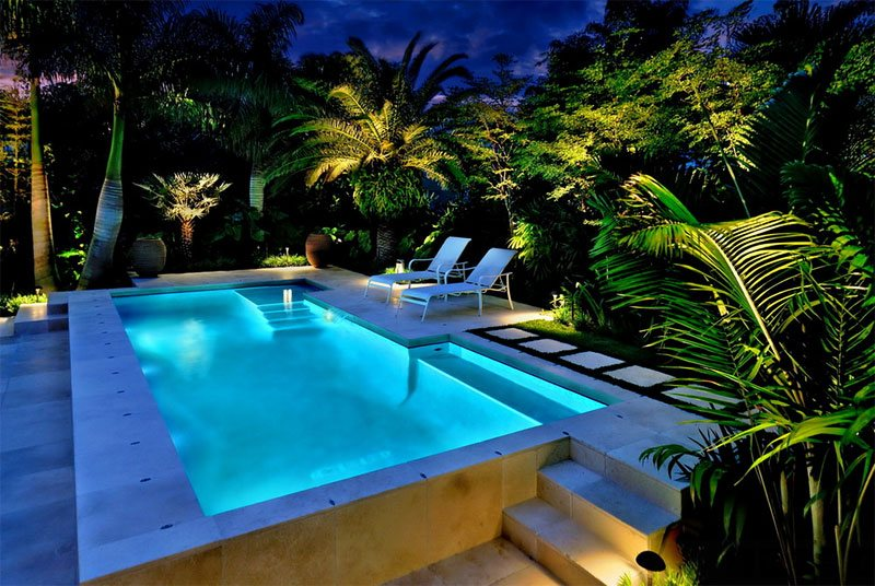 Above Ground Pool Garden Ideas