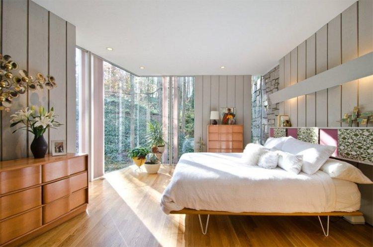 25 Bright Mid Century Modern Bedroom Designs Home Design Lover
