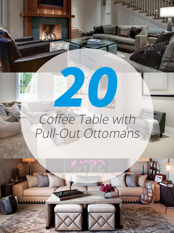 20 charming coffee table with pull out