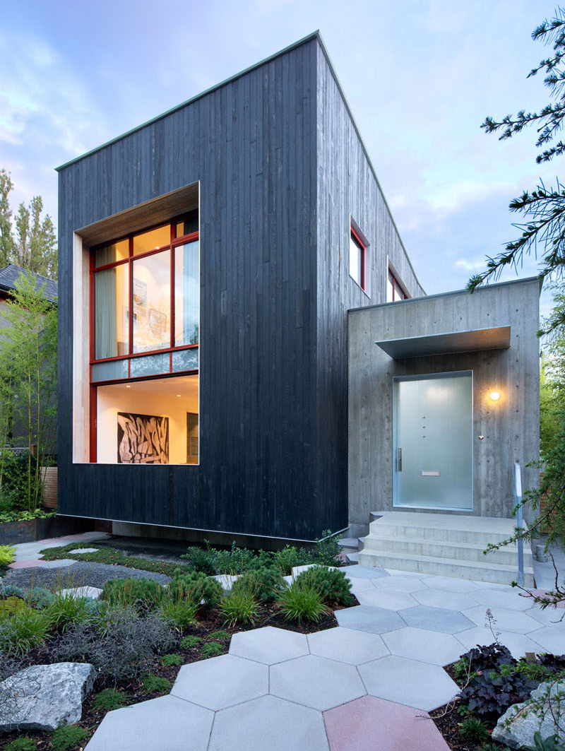 Striking Indoor and Outdoor Features of the Rough House in Vancouver