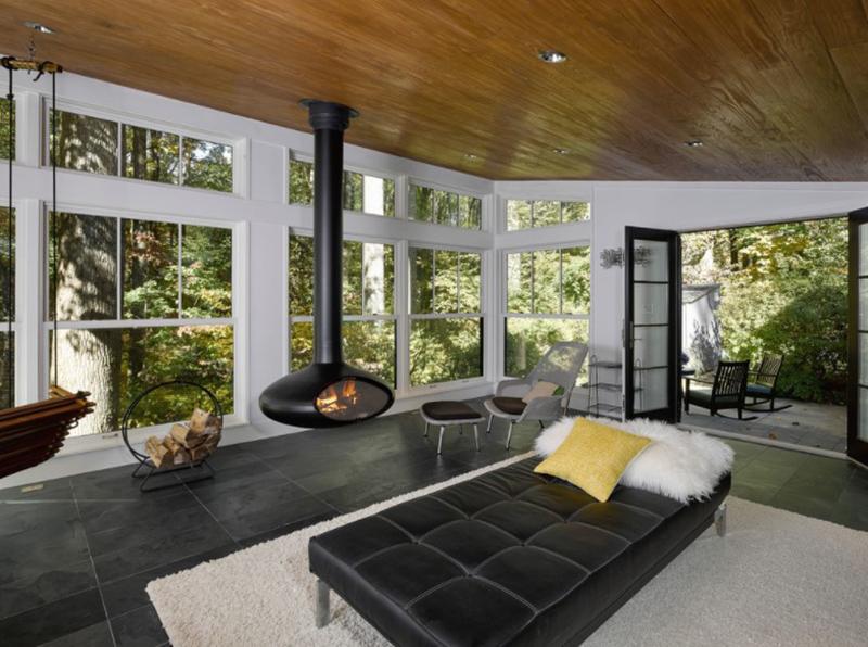 20 Bright Modern Sunroom Designs