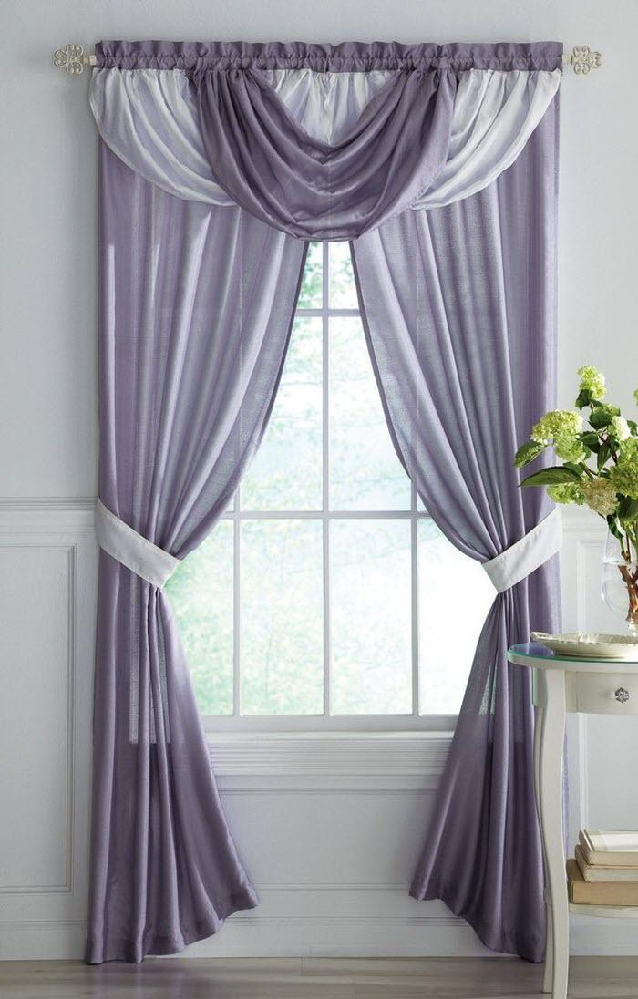 different curtain design patterns