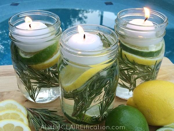 All Natural Bug Repellent Candles