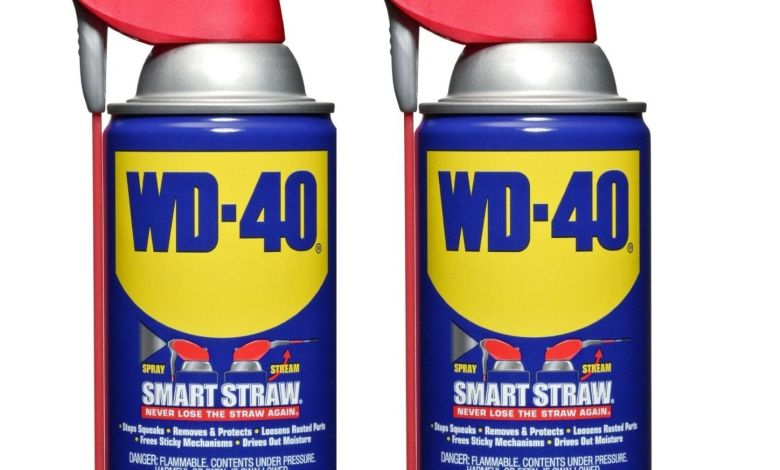 Simple Cleaning Tips with WD40