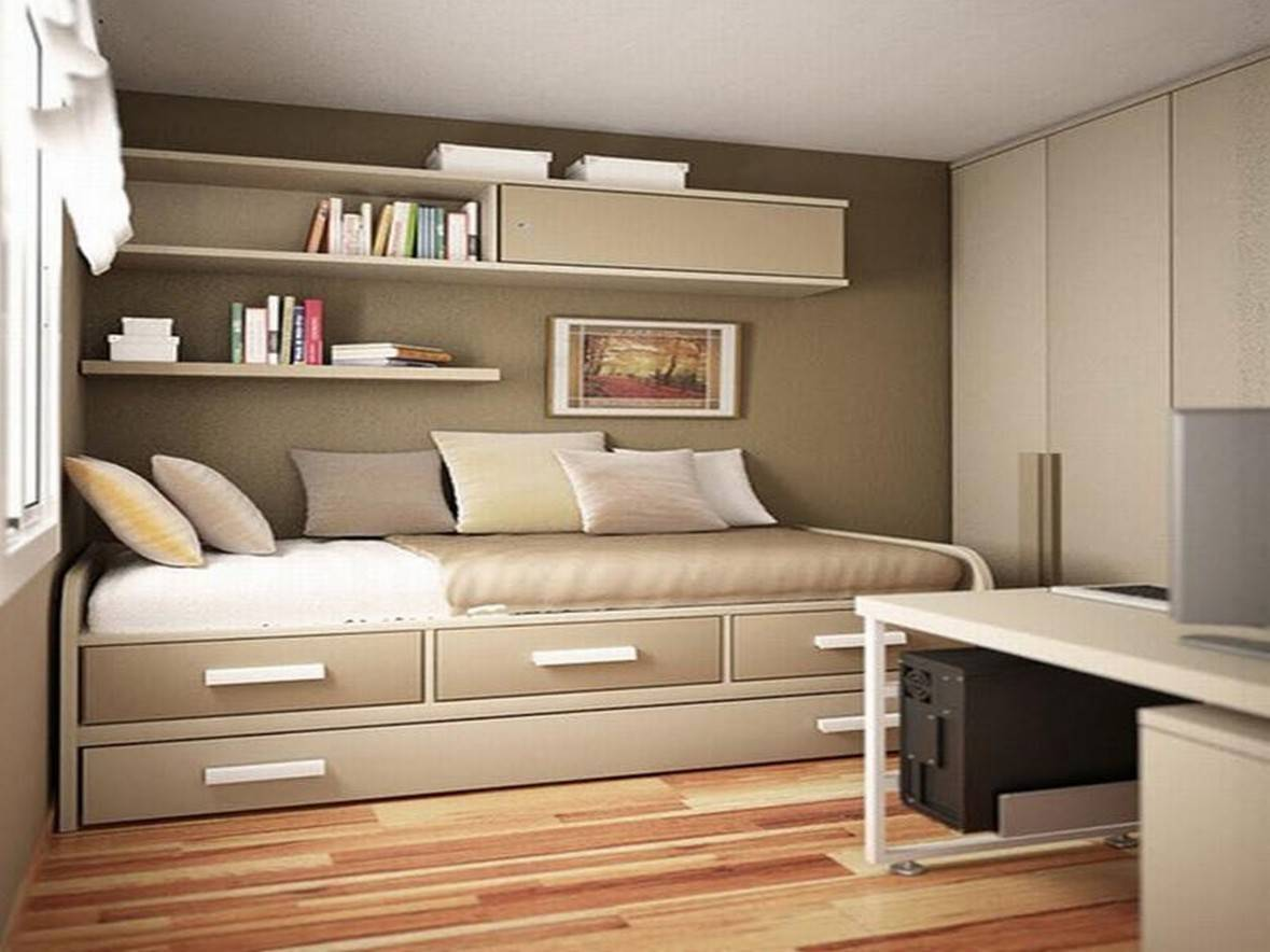 25 Tips For Designing Small-Sized Bedrooms Got Bigger With