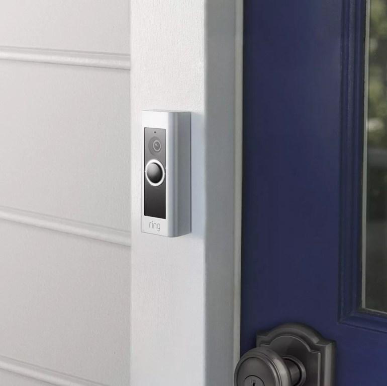 Ring video doorbell system pro