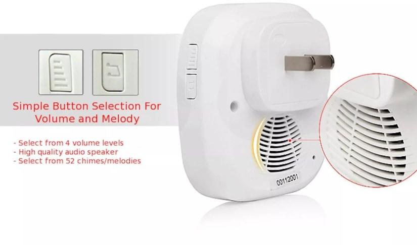 SadoTech Wireless Door chime
