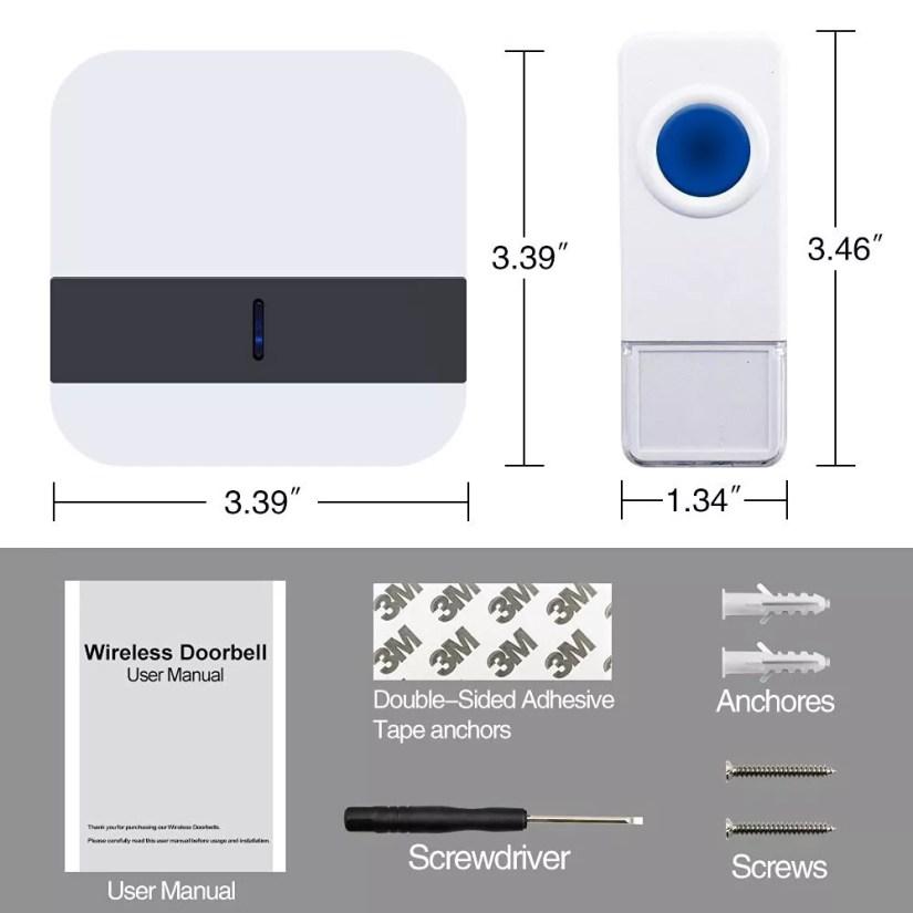 wireless doorbell user manual