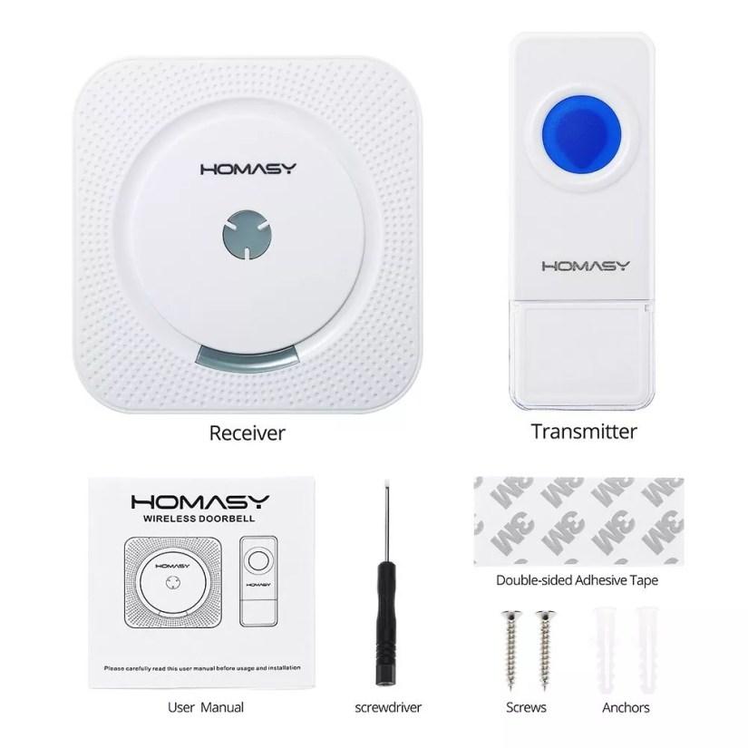 wireless waterproof doorbell