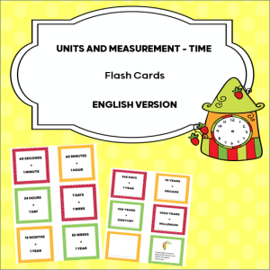 Units and Measurement to teach kids about time.