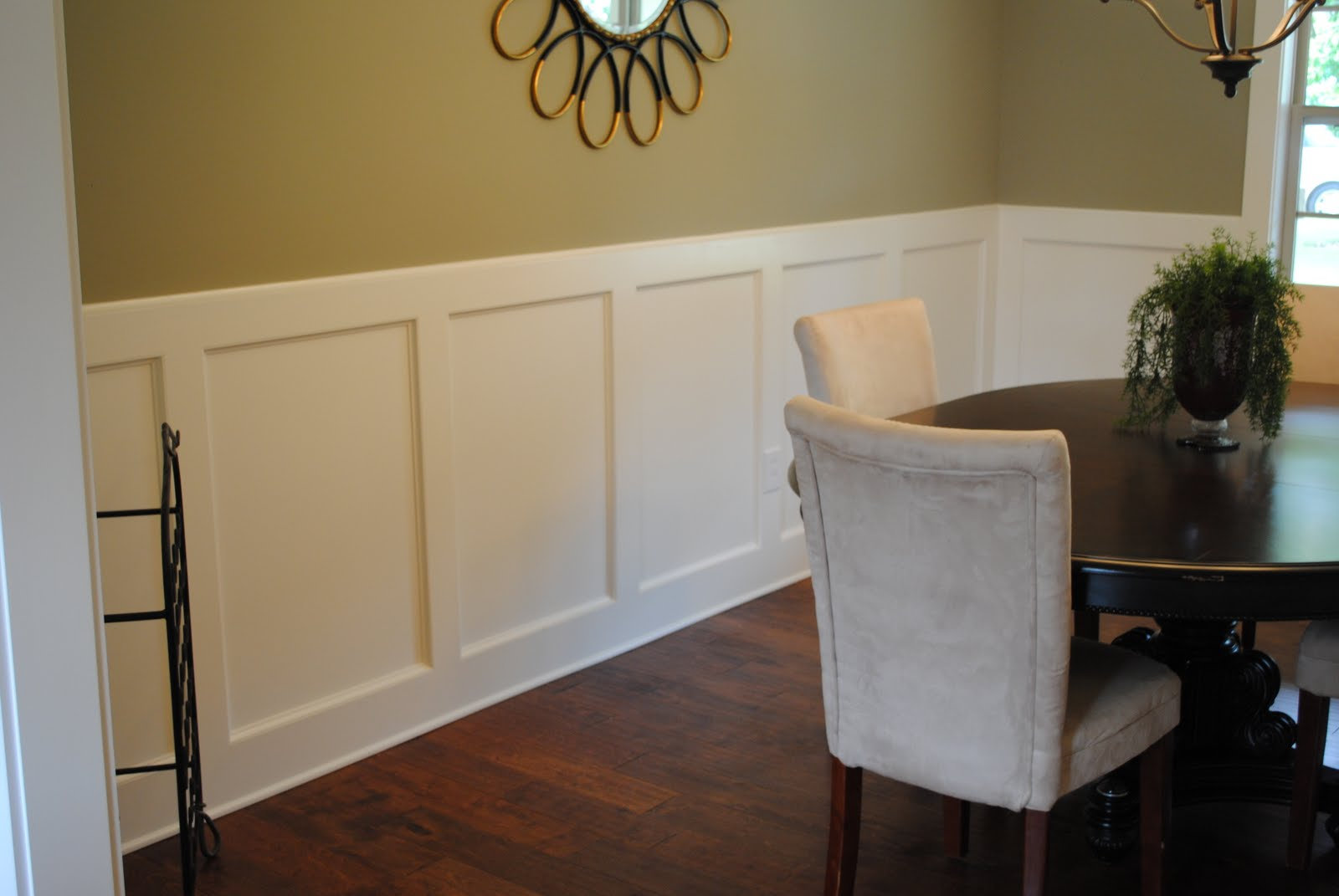 Painting Dining Room With Chair Rail Large And Beautiful