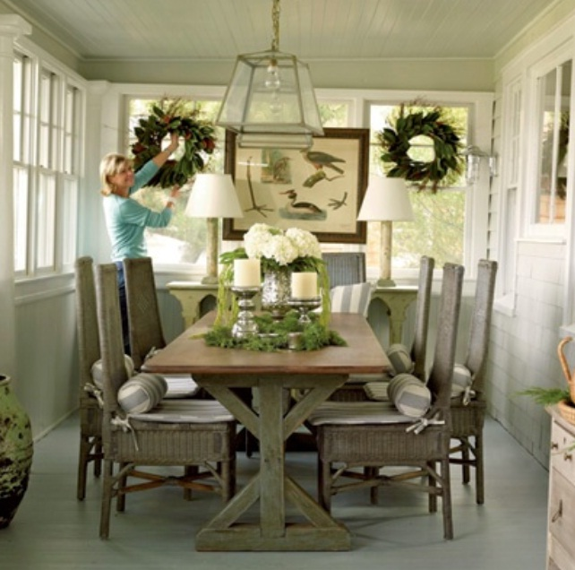 Pictures Decorated Dining Room Tables