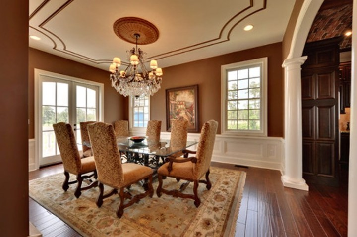 Awesome What Color To Paint Dining Room Photos - Home Design Ideas ...