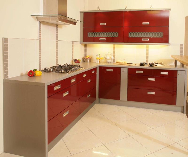 27 Thiết kế nhà bếp màu đỏ hoàn toàn tuyệt vời-17