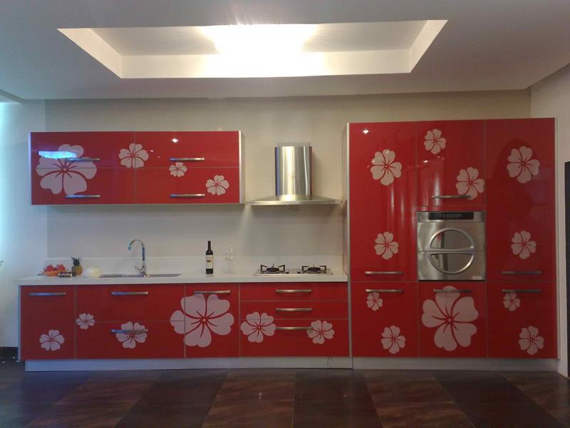 27 Thiết kế nhà bếp màu đỏ hoàn toàn tuyệt vời-19