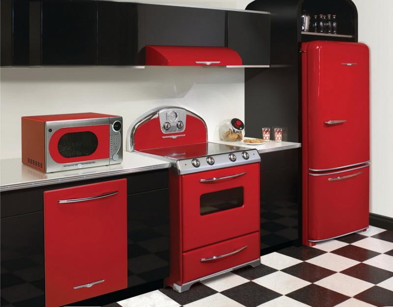 27 Thiết kế nhà bếp màu đỏ hoàn toàn tuyệt vời-22