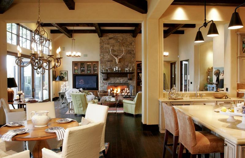 24 Large Open-Concept Living Room Designs