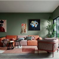 Furniture and Color Scheme For Living Room