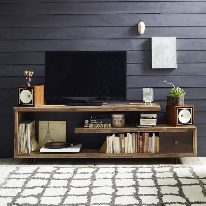 Tv Stand Decor Ideas Pinterest