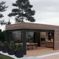 Incredible Cozy Outdoor Rooms Design And Decorating Ideas 0007