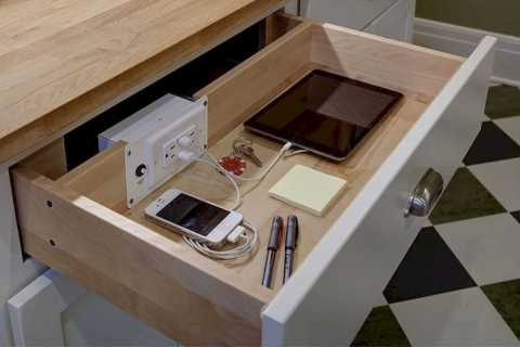 Functional Kitchen Charging Stations 0007