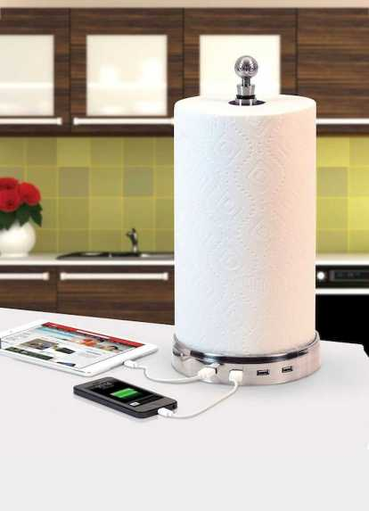 Functional Kitchen Charging Stations 0019