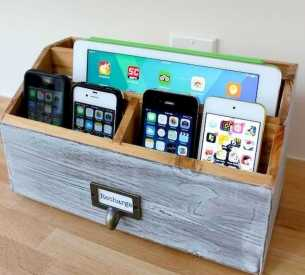 Functional Kitchen Charging Stations 0021