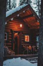 Log Cabin In Winter0006