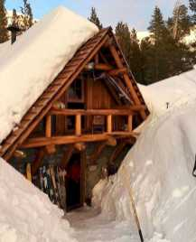 Log Cabin In Winter0007