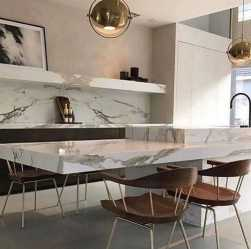 Durable Marble Kitchen Table