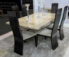 Dining Room Marble Table Ideas – Source: centralbugandauniversity.info