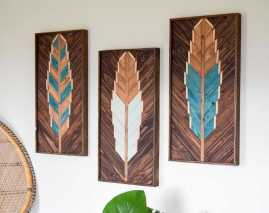 Repurposed Wood Wall Art0006
