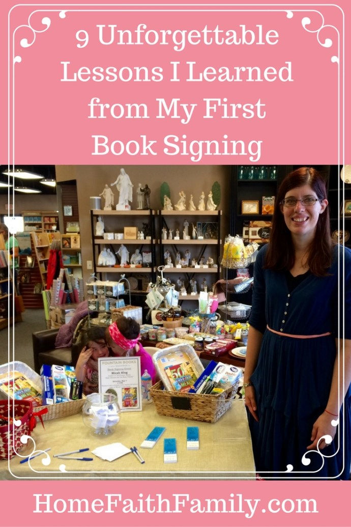 These 9 unforgettable lessons I learned at my first book signing will help you be a pro. #9 is especially important to your success (learn from my mistake). Click to read.