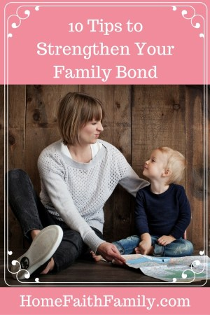 10 Tips to Strengthen Your Family Bond   In order to strengthen your family bond, sacrifices need to be made. These 10 tips to strengthen your family bond will help pave a path to grow closer together and strengthen one another. #3 is the key to success. Click to read.