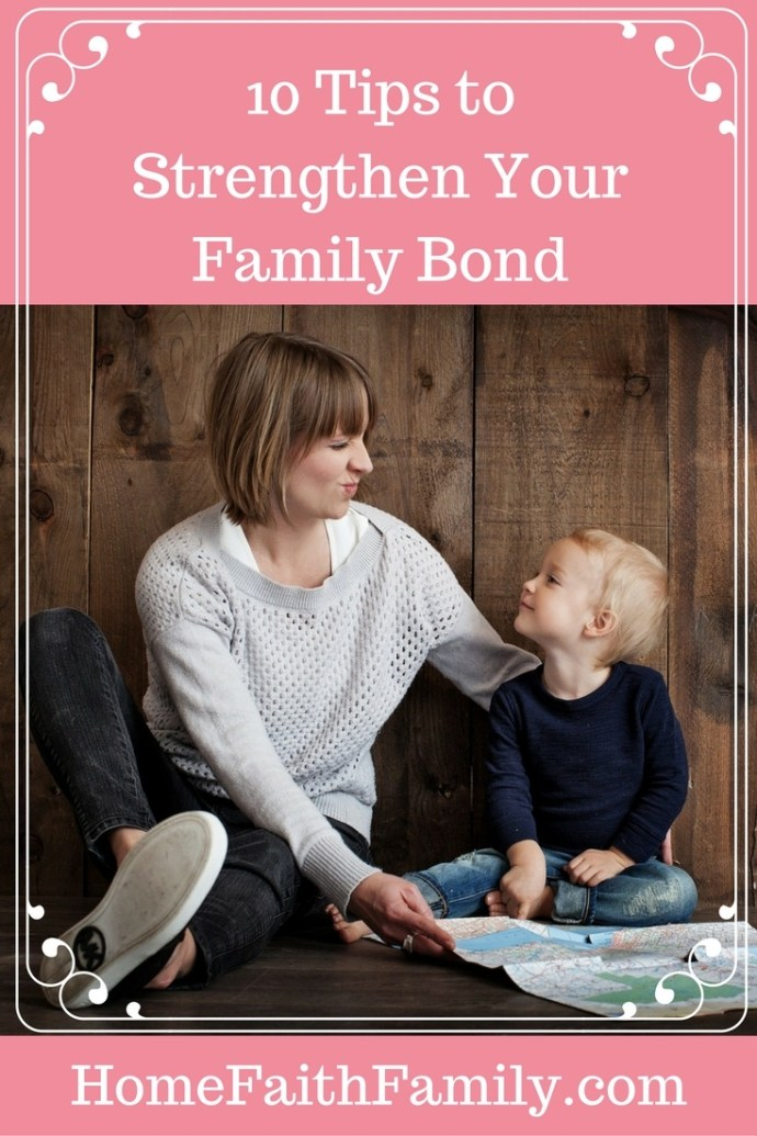 In order to strengthen your family bond, sacrifices need to be made. These 10 tips to strengthen your family bond will help pave a path to grow closer together and strengthen one another. #3 is the key to success. Click to read.