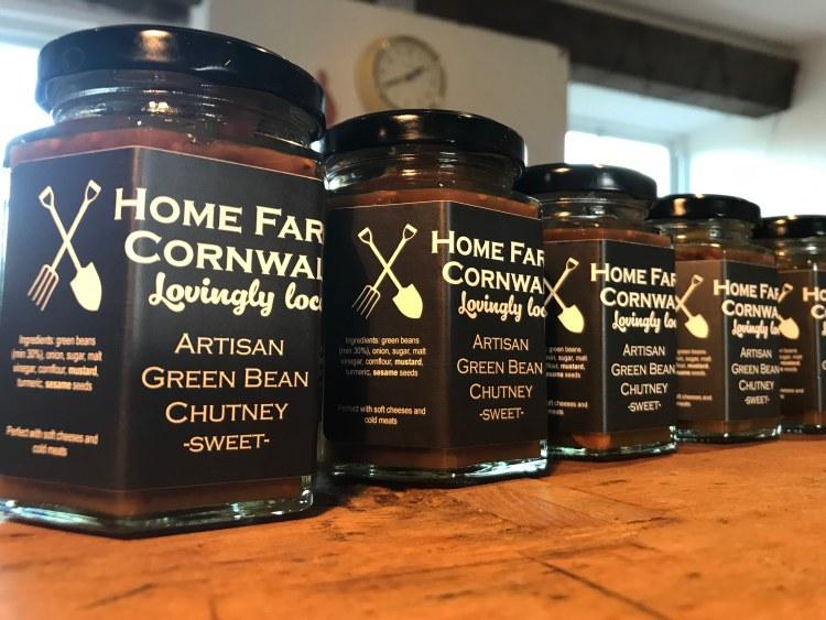 Sweet Green Bean Chutney