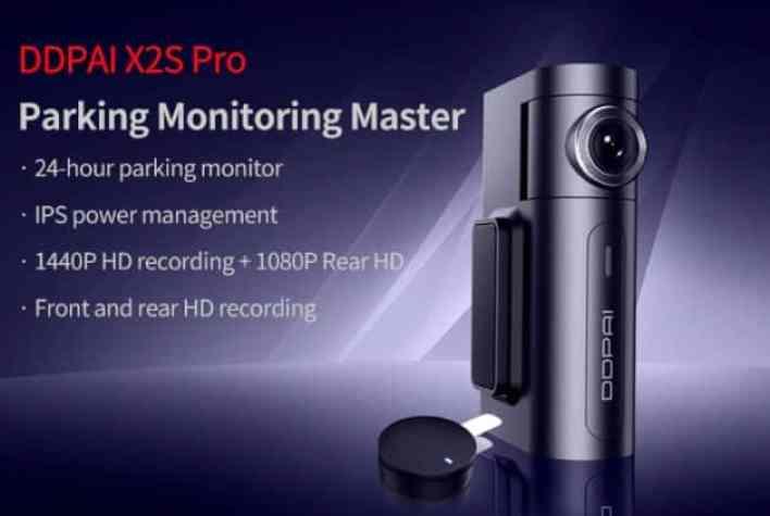 DDPai X2S Pro design