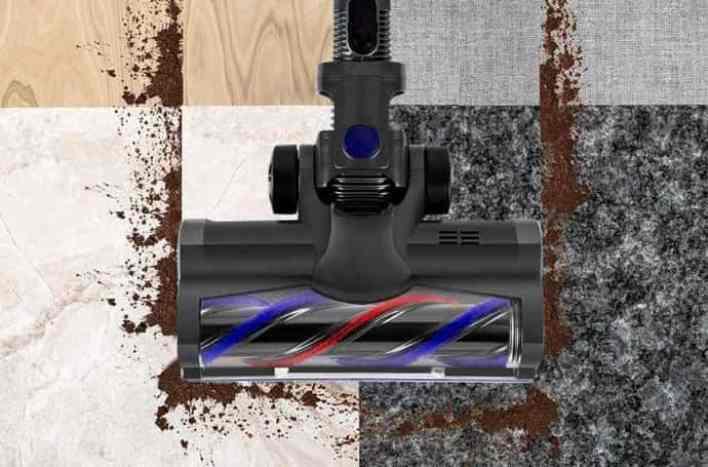 MOOSOO X6 Vacuum design