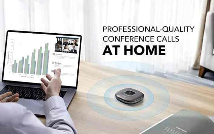 Anker PowerConf Speaker design