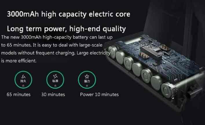 Xiaomi Mijia K10 Vacuum feature
