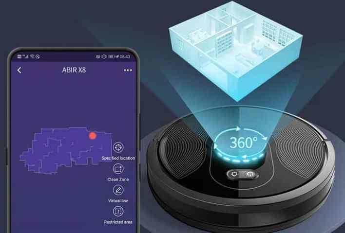 ABIR X8 Robot design2