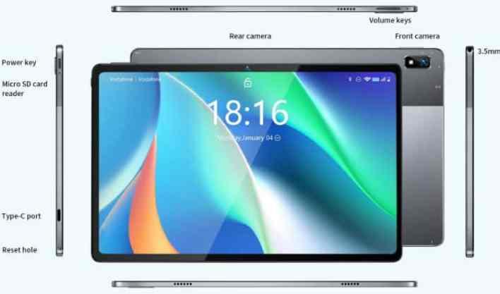 BMAX MaxPad I11 design2