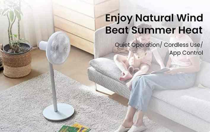 Smartmi Standing Fan 3 design